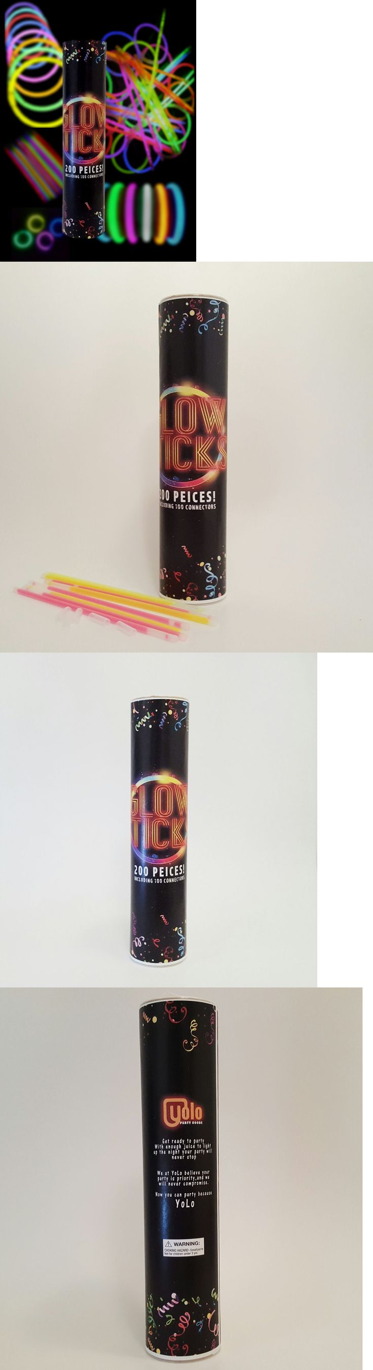 Glow Sticks 51019: Bulk 8 Glow Sticks Yolo Party Goods Brand Multi-Colors Available In 5-25 Tubes -> BUY IT NOW ONLY: $168.99 on eBay!