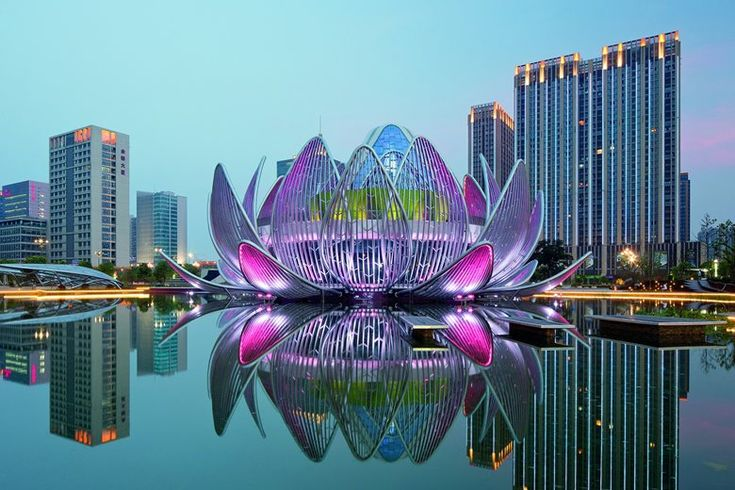 The Lotus Exhibition Centre and People's Park, Changzhou, 2013 - Studio 505