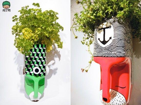 Petit Pots Decoratifs Plastiques
