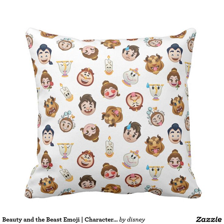 Beauty and the Beast Emoji | Character Pattern