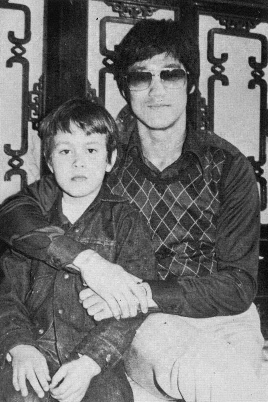 Bruce and Brandon Lee.
