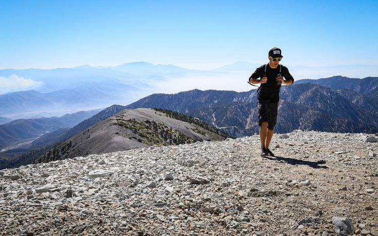 Panoramic views nearing the highest point in the San Gabriel Mountains.- California's 60 Best Day Hikes