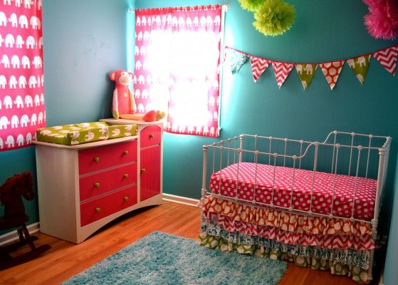 vintage this is our 3rd baby girls nursery featuring a - The Baby Room