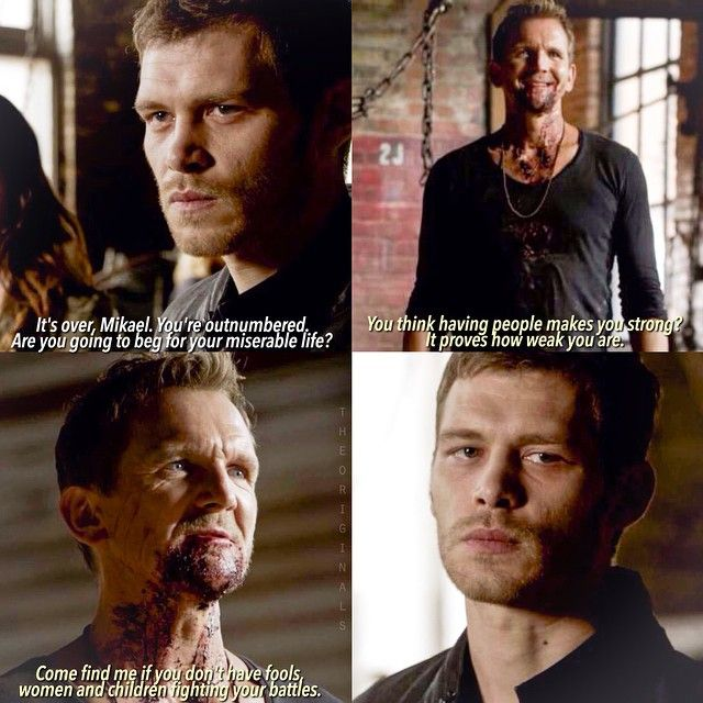 "#TheOriginals 2x05 ""Red Door"" - Klaus and Mikael"