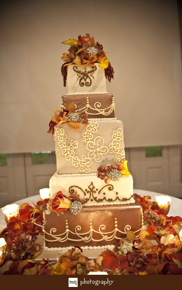 wedding cake fall colors 25 best wedding cakes images on 22591