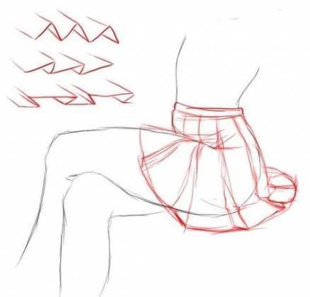 22+ Trendy Skirt Design Drawing