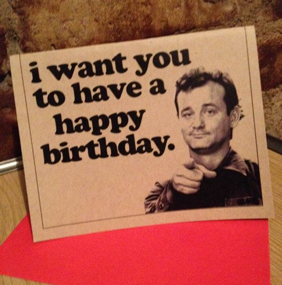 60 best StationeryCardslabels images – Bill Murray Birthday Card