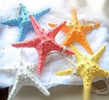 dekoratif reçine denizyıldızı/deniz yıldızı/home ayrıntılı süs parçaları/güzel ve tatlı reçine süsler/pencere dekorasyon(China (Mainland))