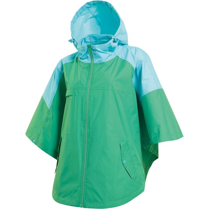 Rain Poncho Cover Windproof Waterproof Coat Camping Hooded Hiking Travel Jacket  #hellobincom #PonchoWaterproofWindproof