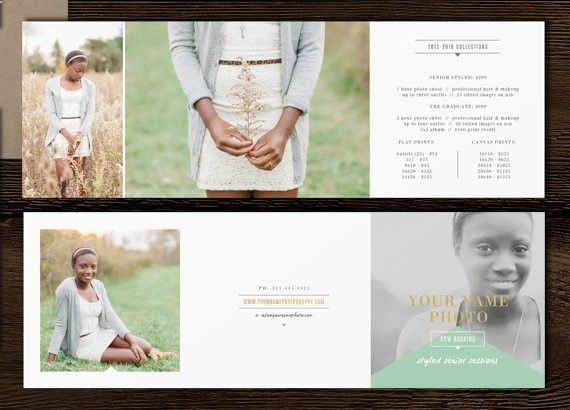 Graduation announcement template. Professional Photoshop templates for photographers. Senior rep cards, business cards, pricing guides, price flyers, sticker templates, thank you cards, Facebook timelines.