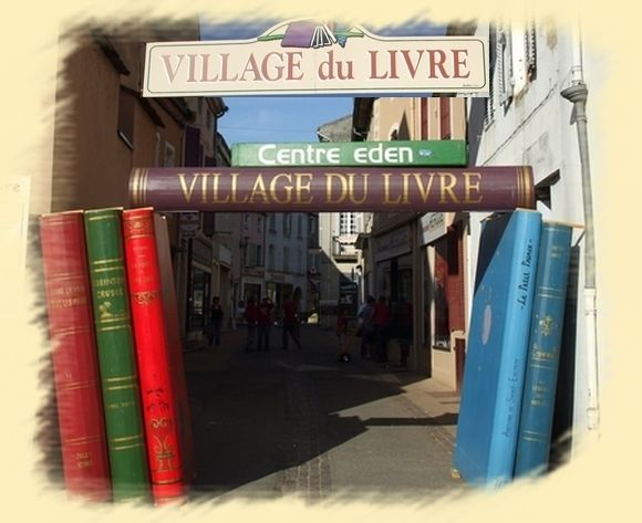 Cuisery, France -- a town for bookworms!