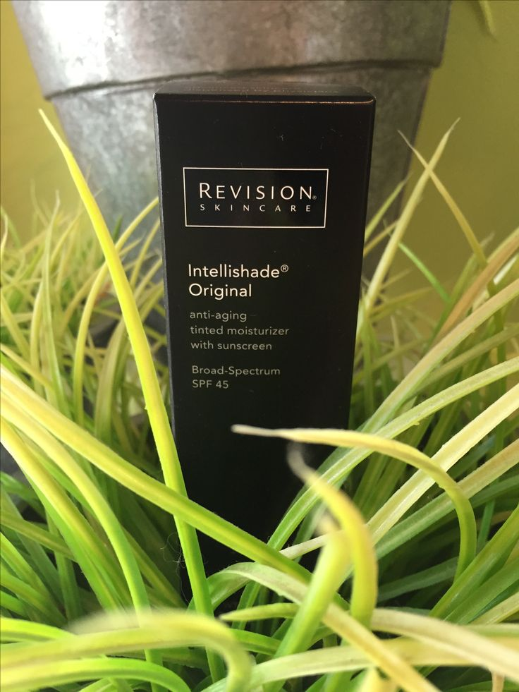 Love Intellishade by Revision Skincare. Great for the woman on the go! Tinted moisturizer with SPF 45 & anti-aging ingredients.
