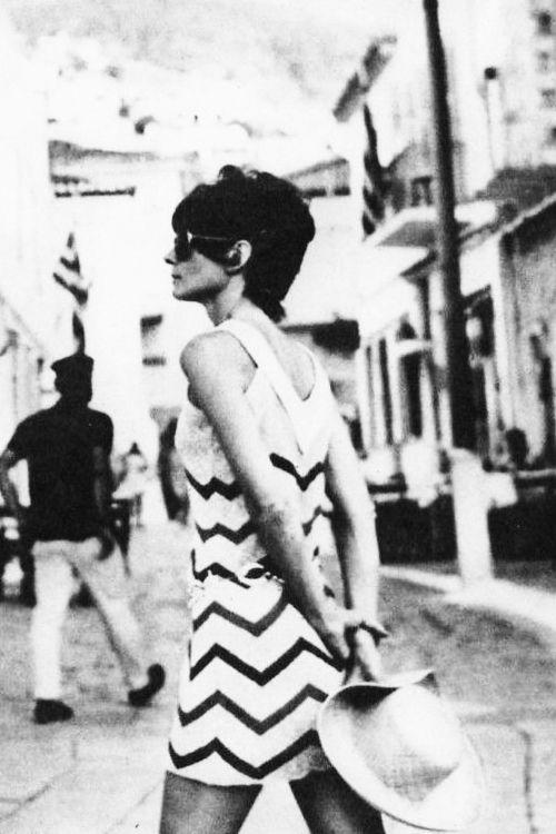 Summer 1970 ~ Audrey Hepburn during vacation in Hydra island