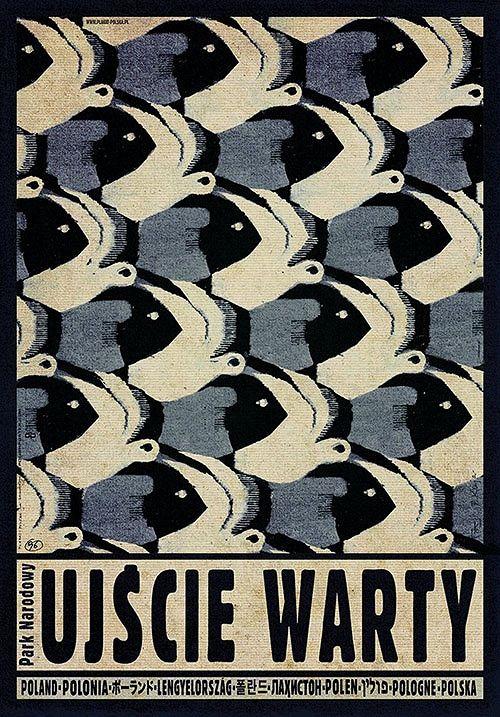 Ujście Warty, plakat promocyjny, Ryszard Kaja