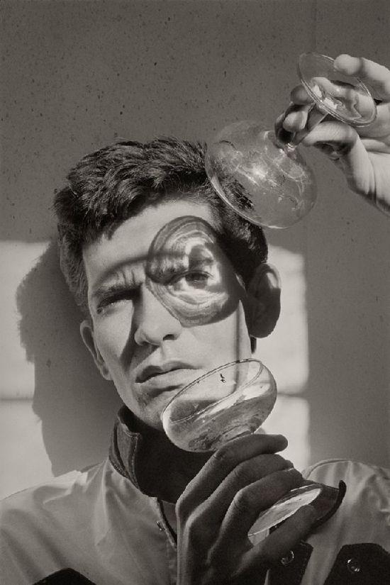 Alberto García Alix, spanish photographer. Portrait of Carlos García Berlanga.