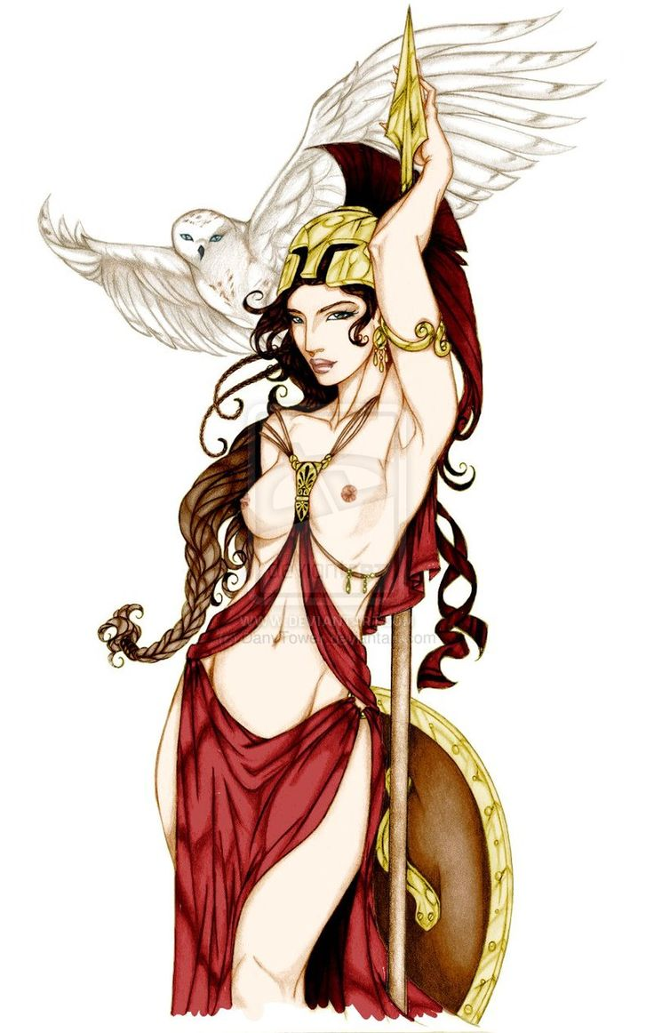 Anyae's Athena by DanyTower