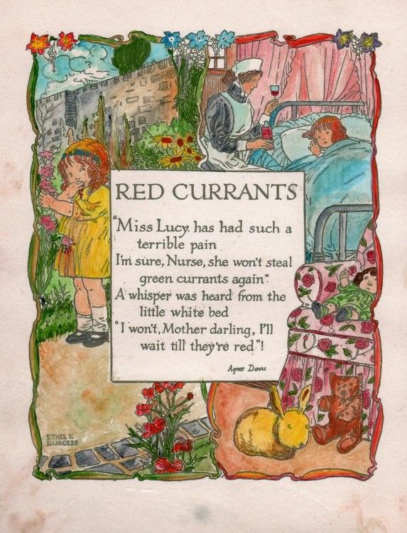 Red Curants Nursery Rhyme