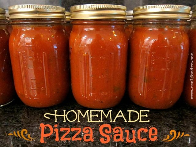 Homemade Pizza Sauce | Food and Drinks | Pinterest | Homemade Pizza ...