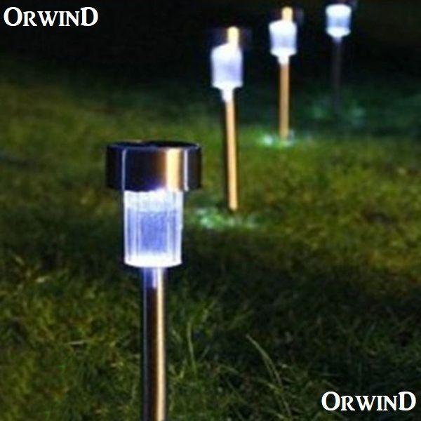 Orwind Pro Solar Led Light For Garden Rod Set Of 5 Web Orwind Com Super Light Up The Night With The Power Of Th Solar Lights Garden Garden Lamps Lawn Lights