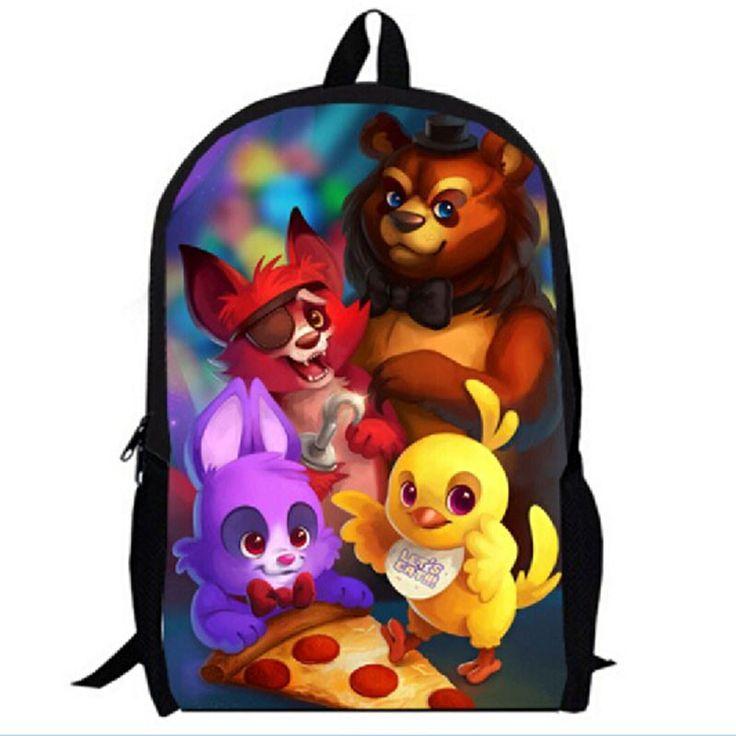 5 Five Nights at Freddy's Freddies Backpack School bag horro game survival pc xbox playstation indie gamer teen unisex adult
