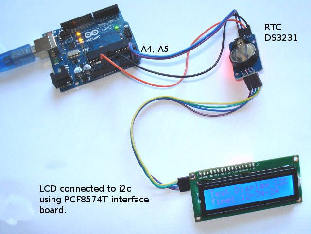DS1307 RTC Real time clock mini-breakout - ladyadanet