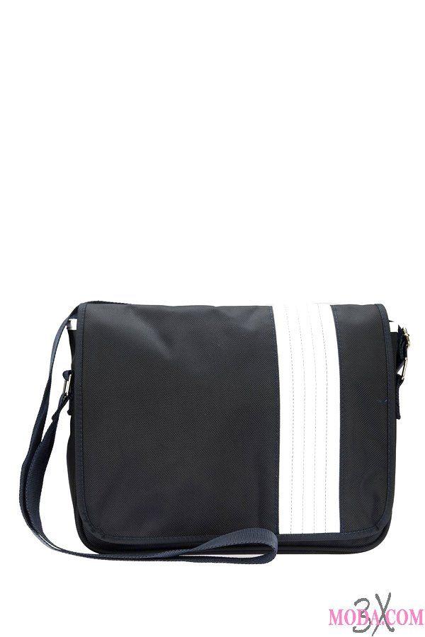 İki renk omuz çantası