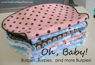 Free! Burpies: Part 2 YCST Project | Sewing Pattern | Free Pattern | YouCanMakeThis.com