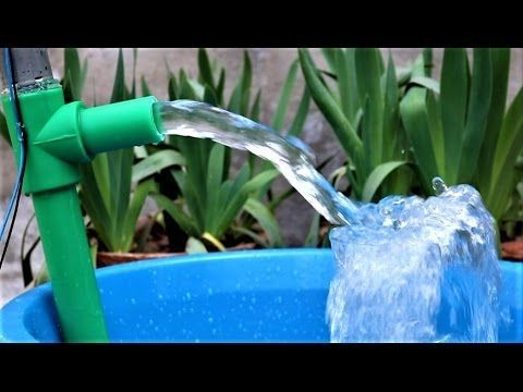 This is a different type of water pump, Everyone can make it easily with in just five minutes. Enjoy! Like Us On Facebook: https://www.facebook.com/easyhomem...