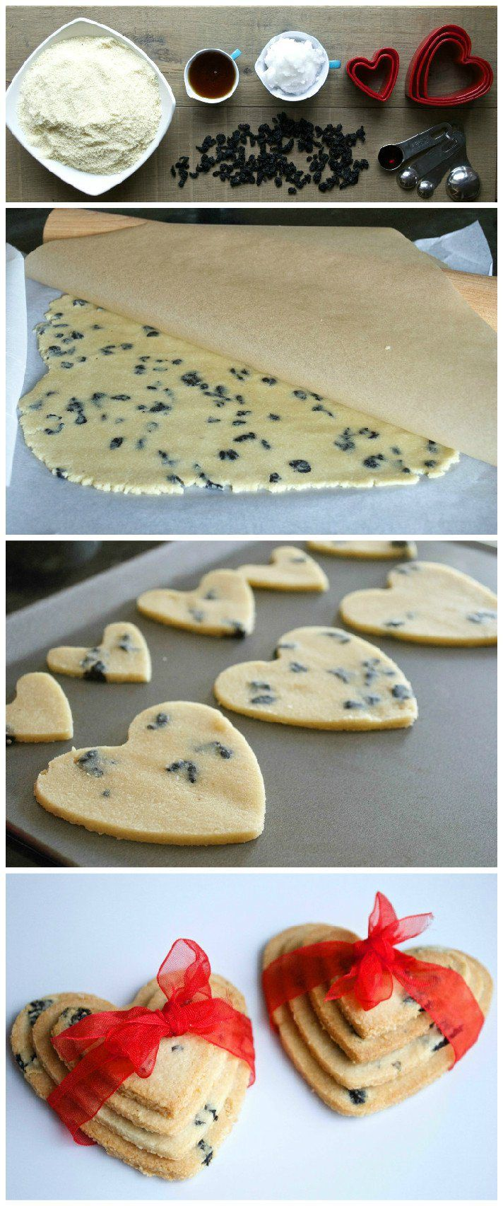 Organic love heart biscuits to make with kids, suitable for toddlers from 10 months+