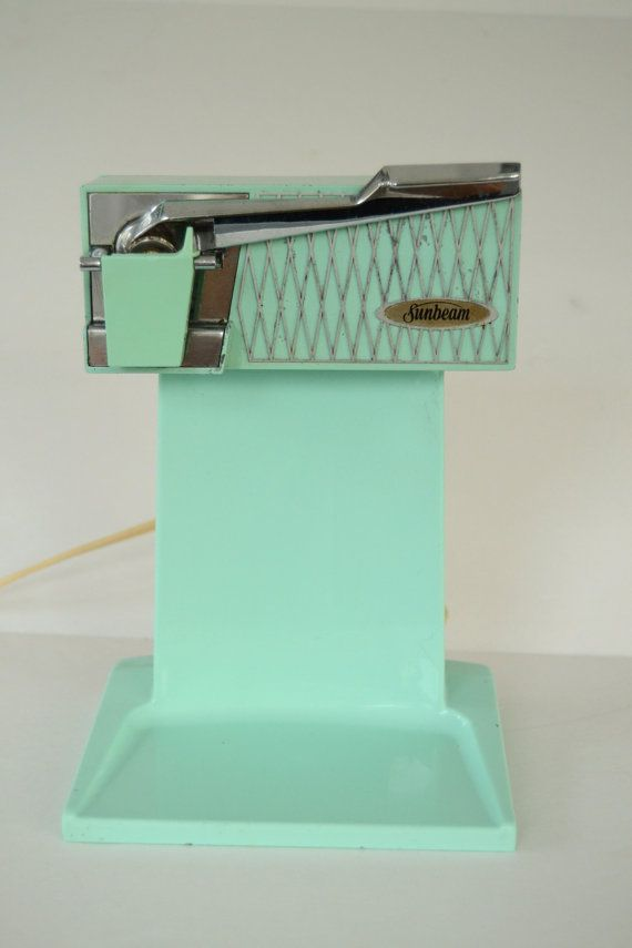1950s Vintage Retro Turquoise Sunbeam by MorningGloryModerne, $32.99