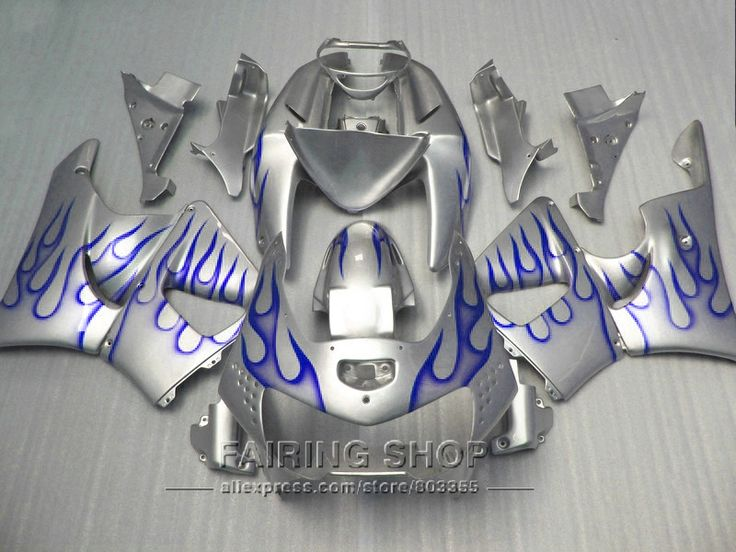 343.17$  Watch here - http://aif8g.worlditems.win/all/product.php?id=32717488173 - Motorcycle kits For Honda cbr900rr Fairing kit 919 1999 1998 Fairings cbr 900rr 98 99 ( Silver blue ) CN35