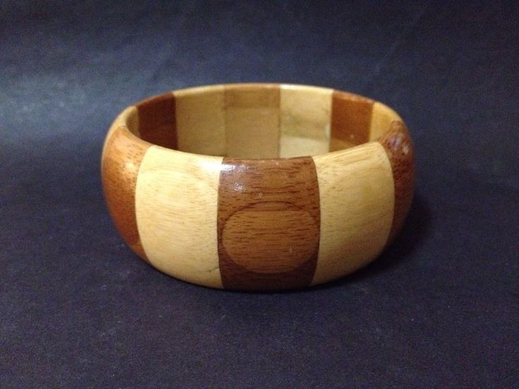 Estate Find - Pre Owned Multi Bamboo Lacquered Bangle