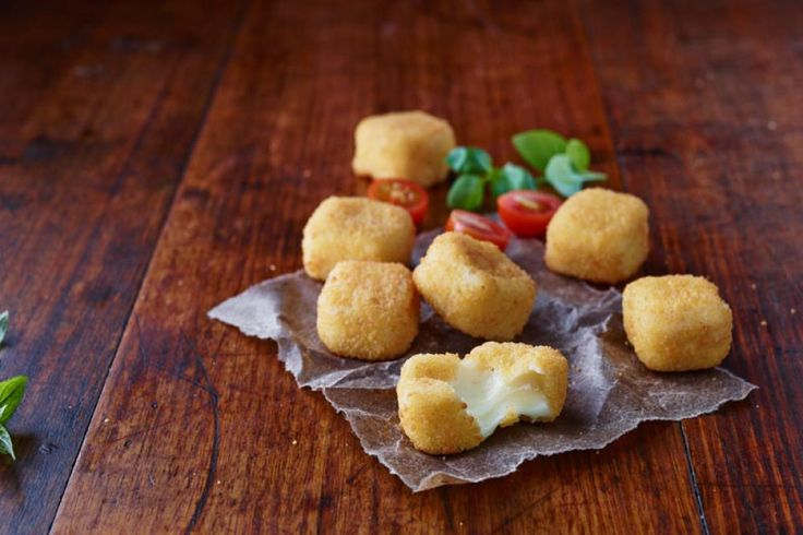 Colonial Farm - Mozzarella Bites! Perfectly stringy morsels of fromagian splendour! Cook from frozen for your convenience.