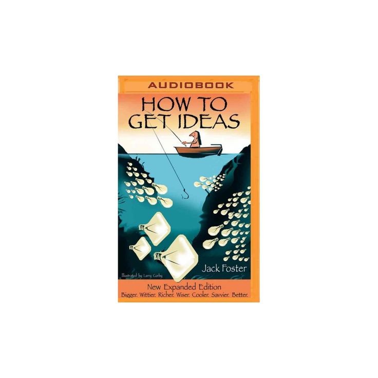 How to Get Ideas (MP3-CD) (Jack Foster)