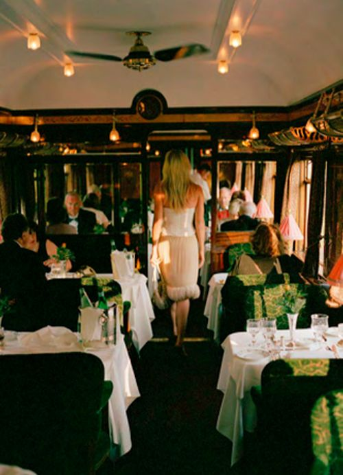 Dreaming of boarding the Orient-Express at Victoria Station, London, UK and arriving in Istanbul 3 or so days latter.