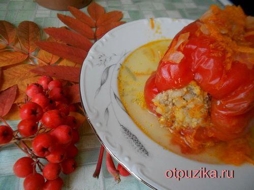 как готовить фаршированный перец