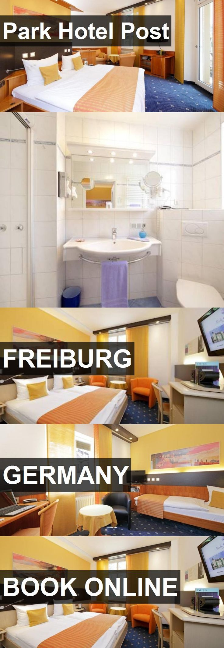 Park Hotel Post in Freiburg, Germany. For more information, photos, reviews and best prices please follow the link. #Germany #Freiburg #travel #vacation #hotel
