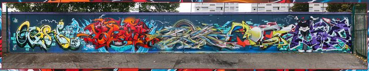 by Ogre, Brok, Hopare, Red & Onykz | by Man - Art is Life