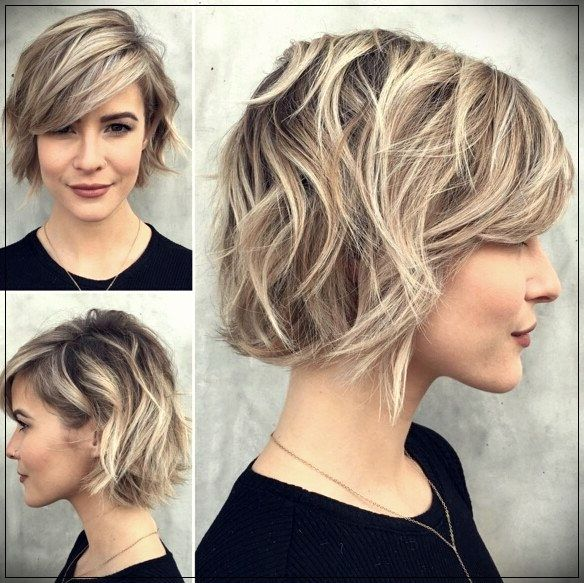 Hairstyles For Short Hair 2019 Trends And Pretty Ideas Layered Bob Hairstyles Short Hair Trends Choppy Bob Hairstyles