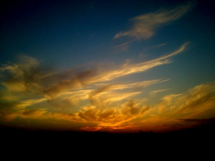 sun set, Poland