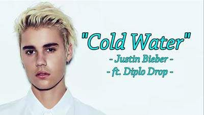 Cold Water Lyrics - Justin Bieber | Latest Hindi Movie Songs ...