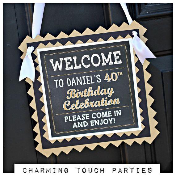 Milestone Birthday Party Decorations40th Birthday