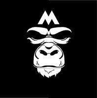B&W gorilla