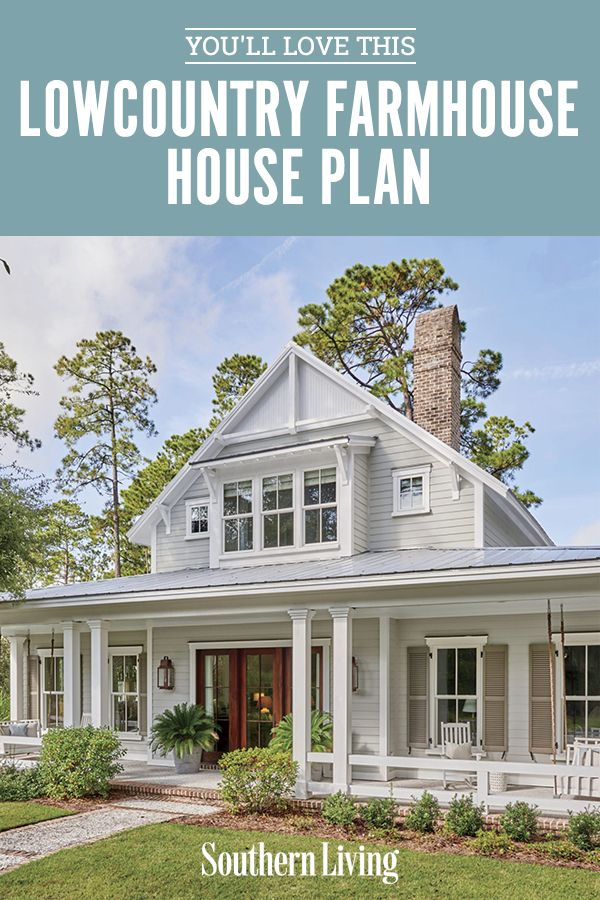 We Re Loving This Lowcountry Farmhouse House Plan In 2020 Southern Living House Plans Southern House Plans Country Cottage House Plans