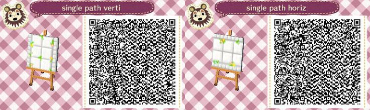 1000 Images About Acnl Qr Codes For Paths Amp Others On