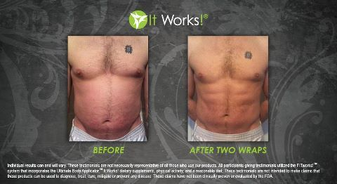 Real Men Wrap too!! http://wowresults.myitworks.com