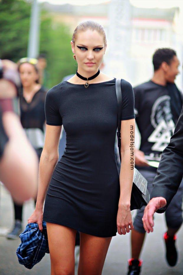 Candice Swanepoel, Paris, June 2014