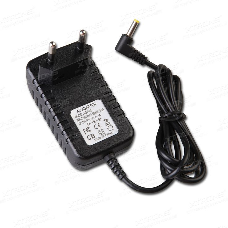 Eu 2 pin acdc power supple adapter plug 1a 12v only for