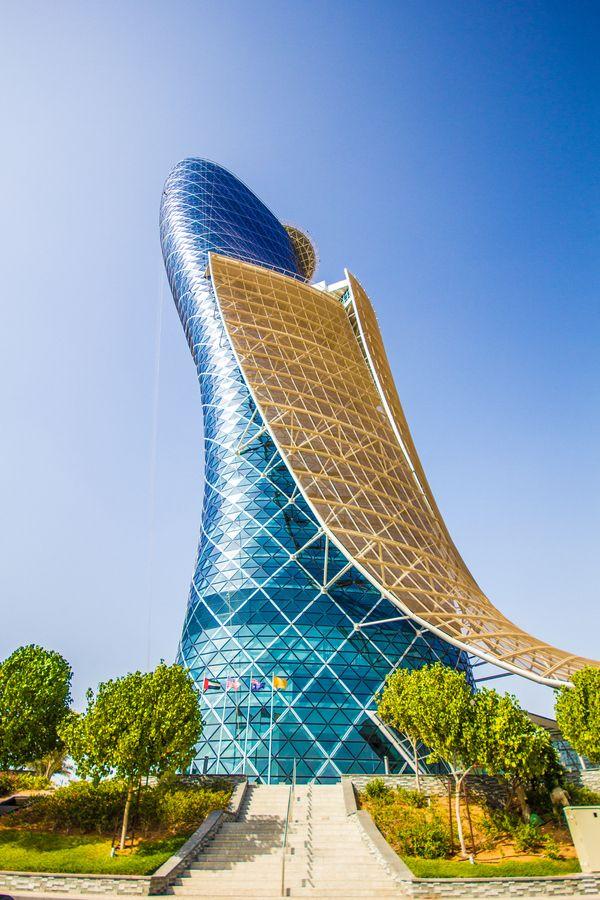 HYATT Capital Gate, Abu Dhabi via Asif Patel.