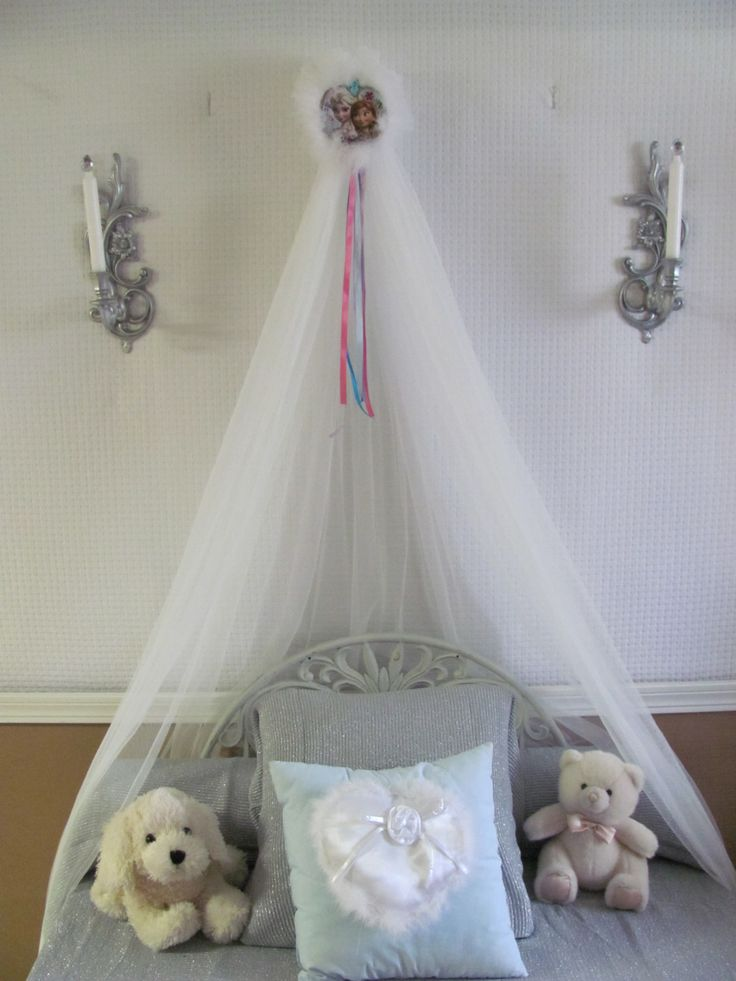 DISNEY Frozen BedRoom Crown Canopy Photography Hanging Bed PhOtO PrOp Mosquito Netting SALE by SoZoeyBoutique on Etsy